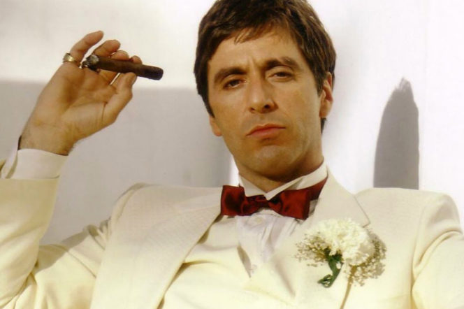 Al Pacino z cygarem