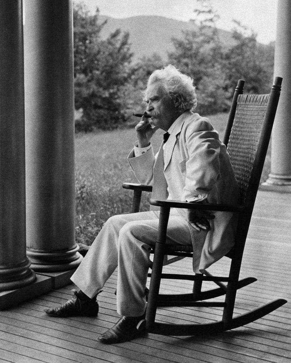 Mark Twain i cygaro