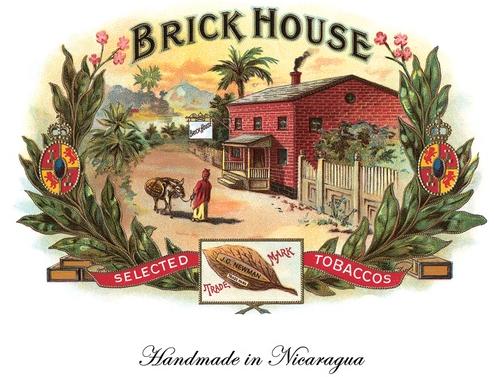 Logo cygara Brick House - marki JC Newman