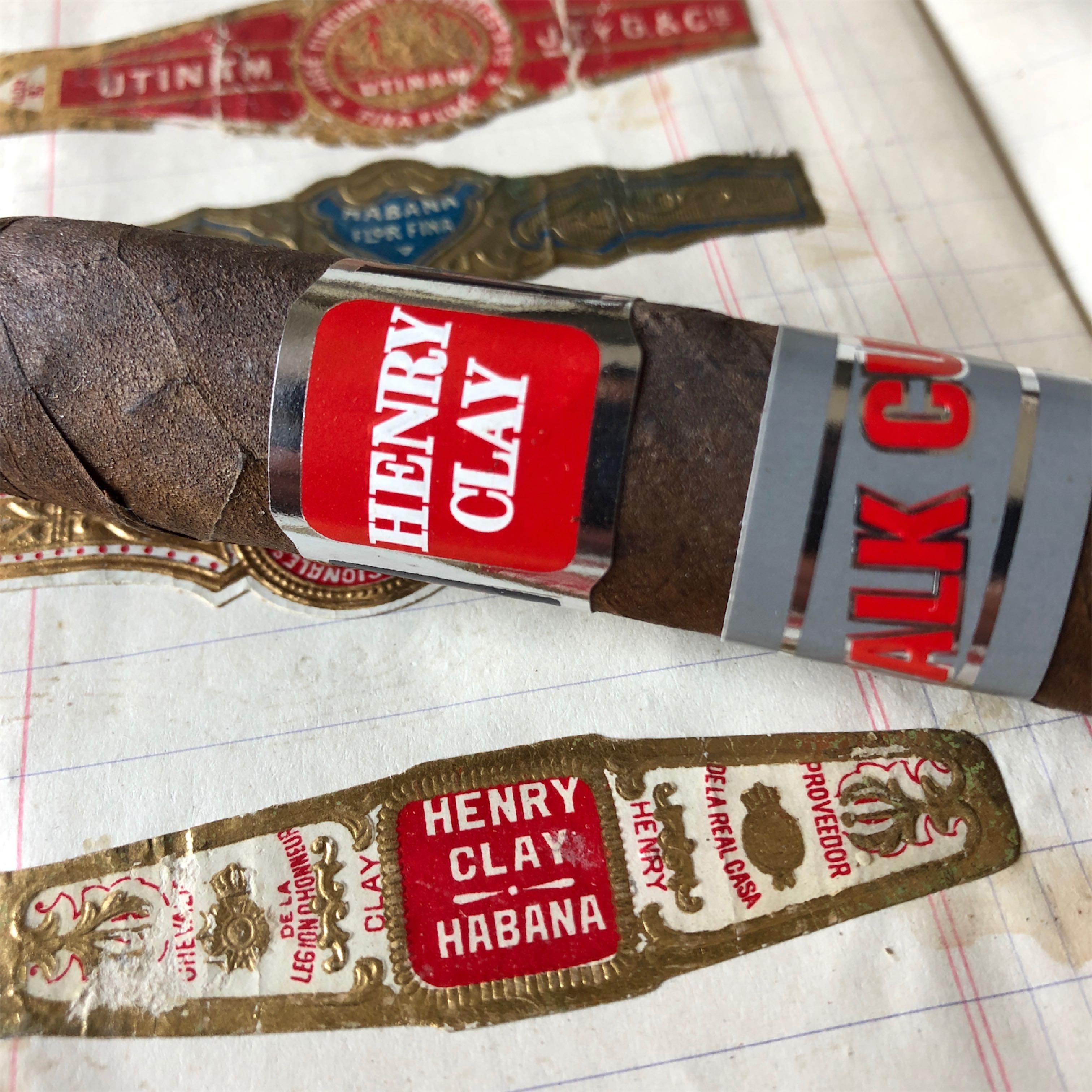 Henry Clay Stalk Cut - dawniej cygaro kubańskie, dziś produkowane na Dominikanie.