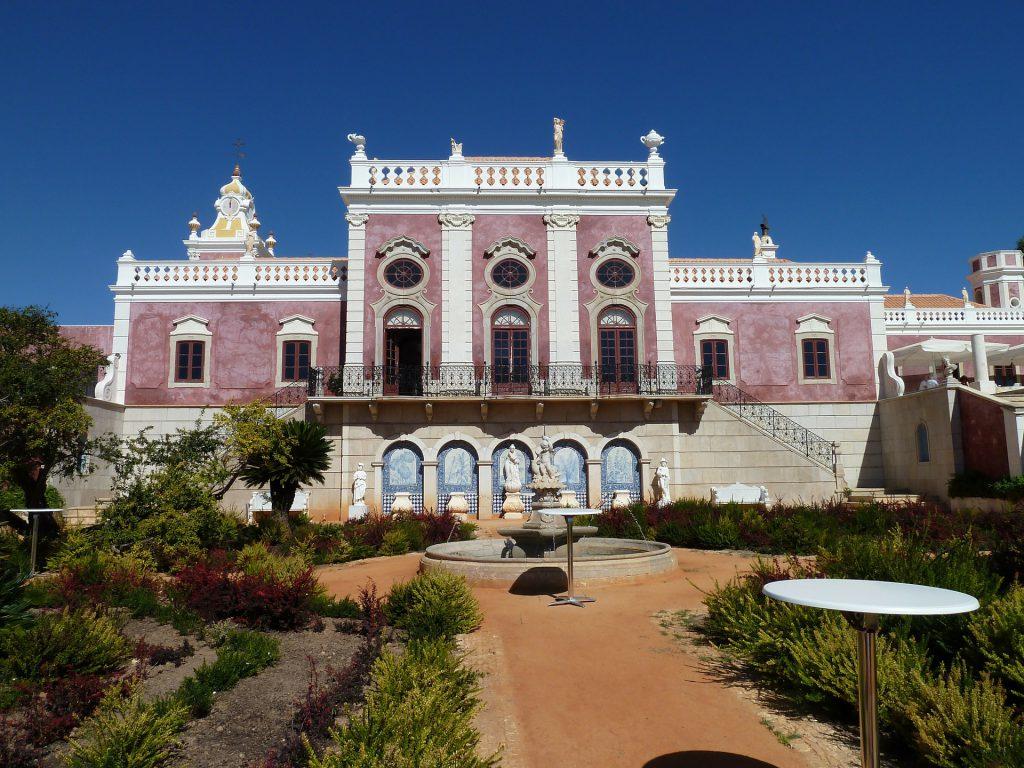 Pałac w Estoi, Portugalia - Manufaktura Marzeń