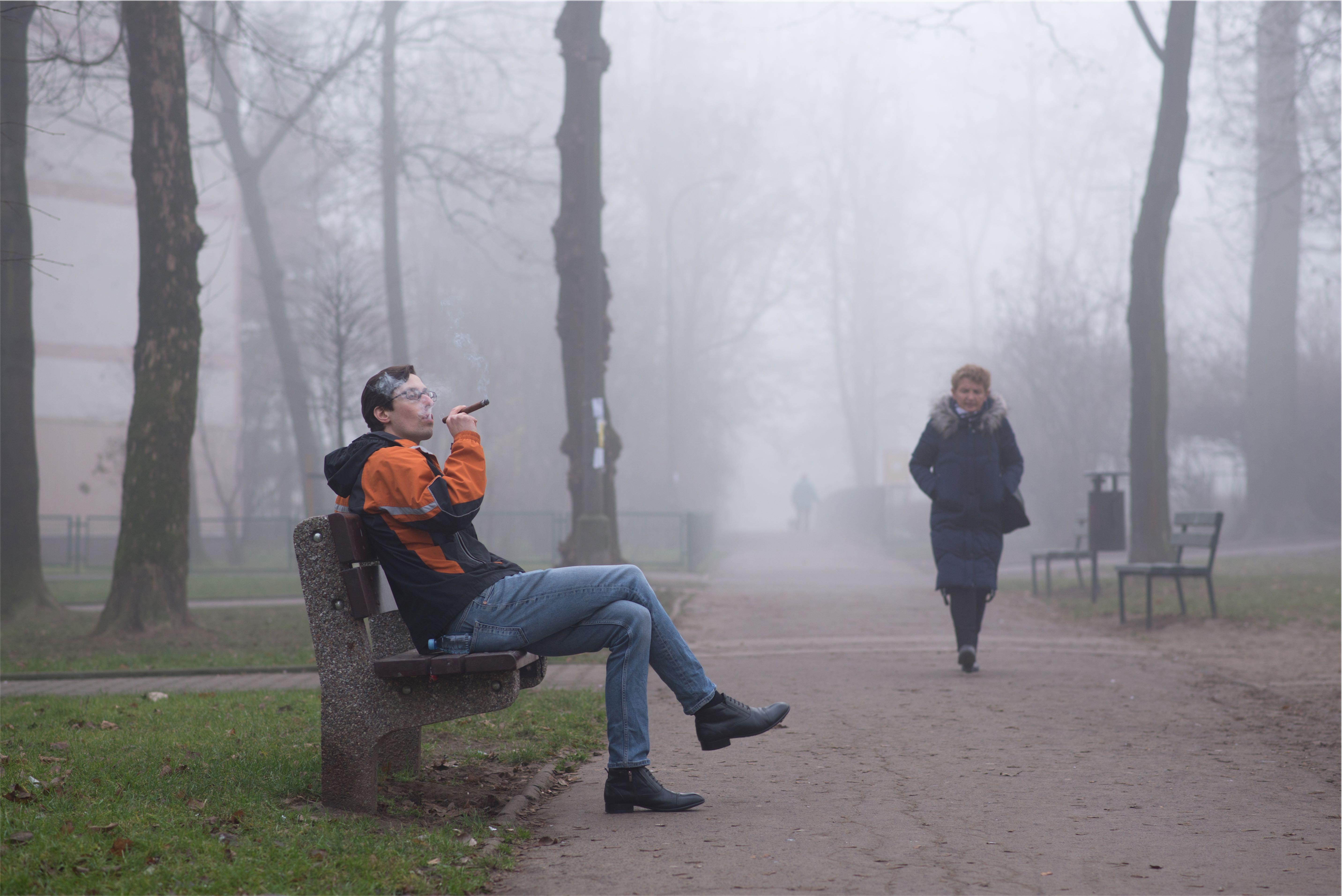Sir Winston w krakowskiej mgle