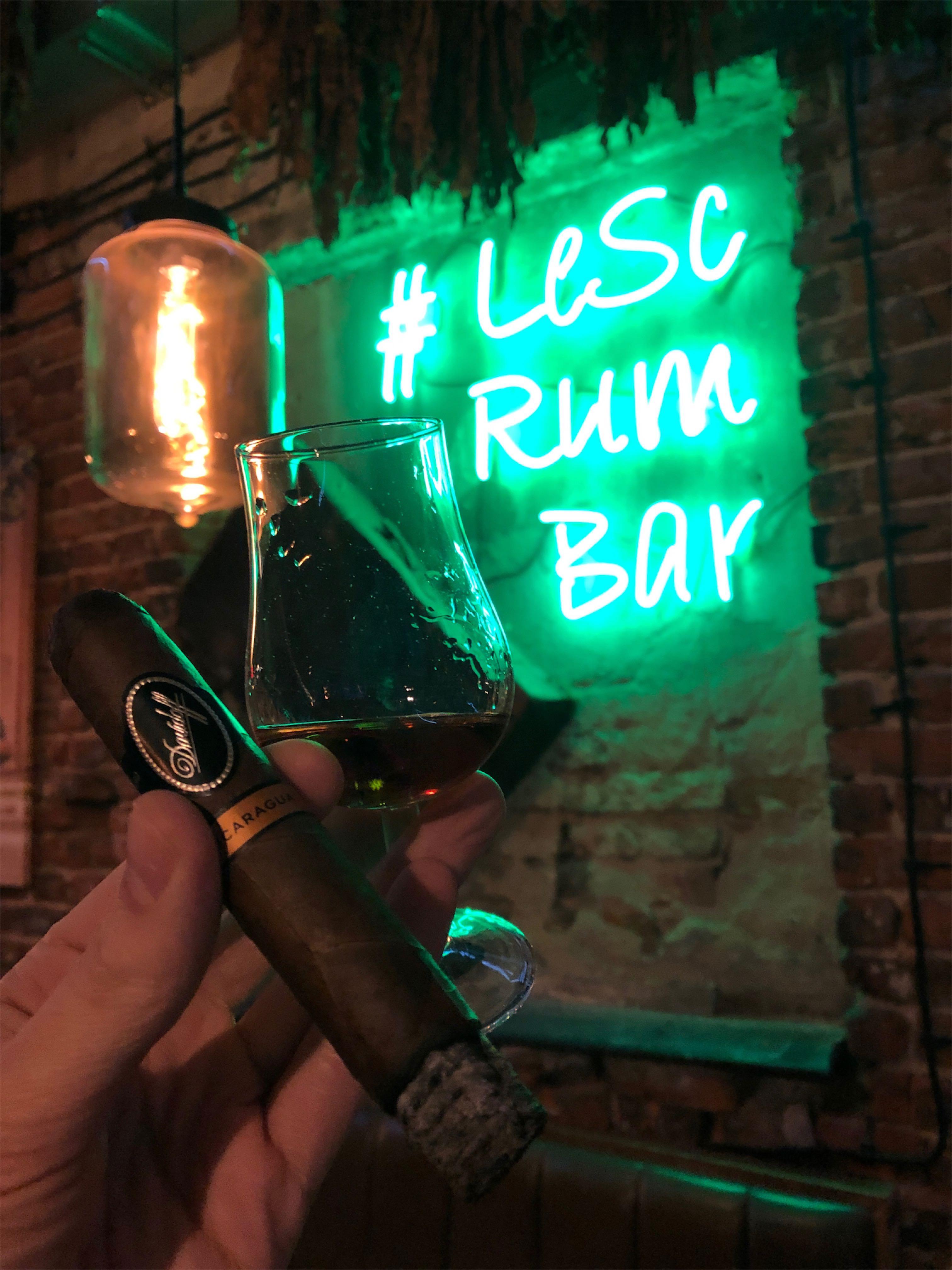 Cygaro i rum - Davidoff Nicaragua
