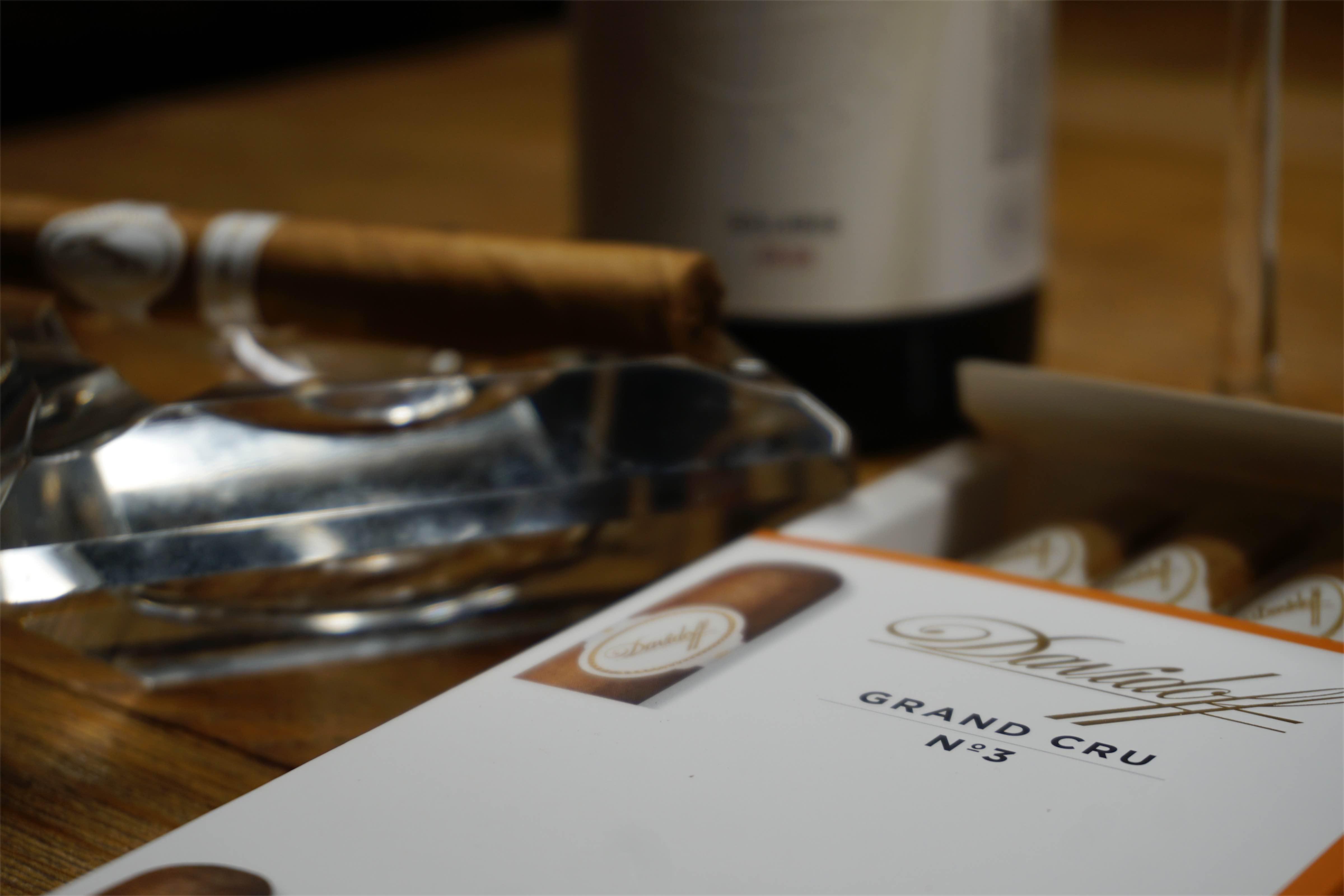 Grand Cru - co łączy cygara i wino? Manufaktura Marzeń - Davidoff