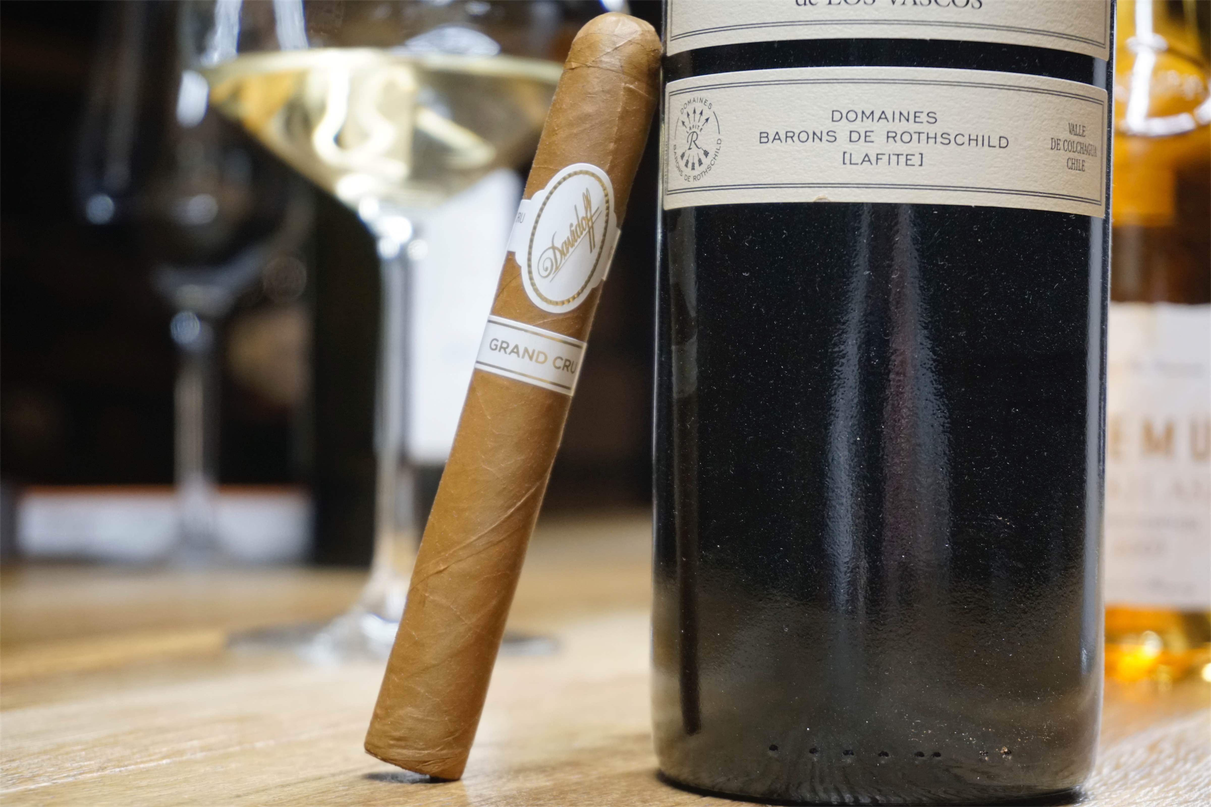 Davidoff Grand Cru i chilijskie wino, którego twórczynią była baronessa Filipina de Rotschild