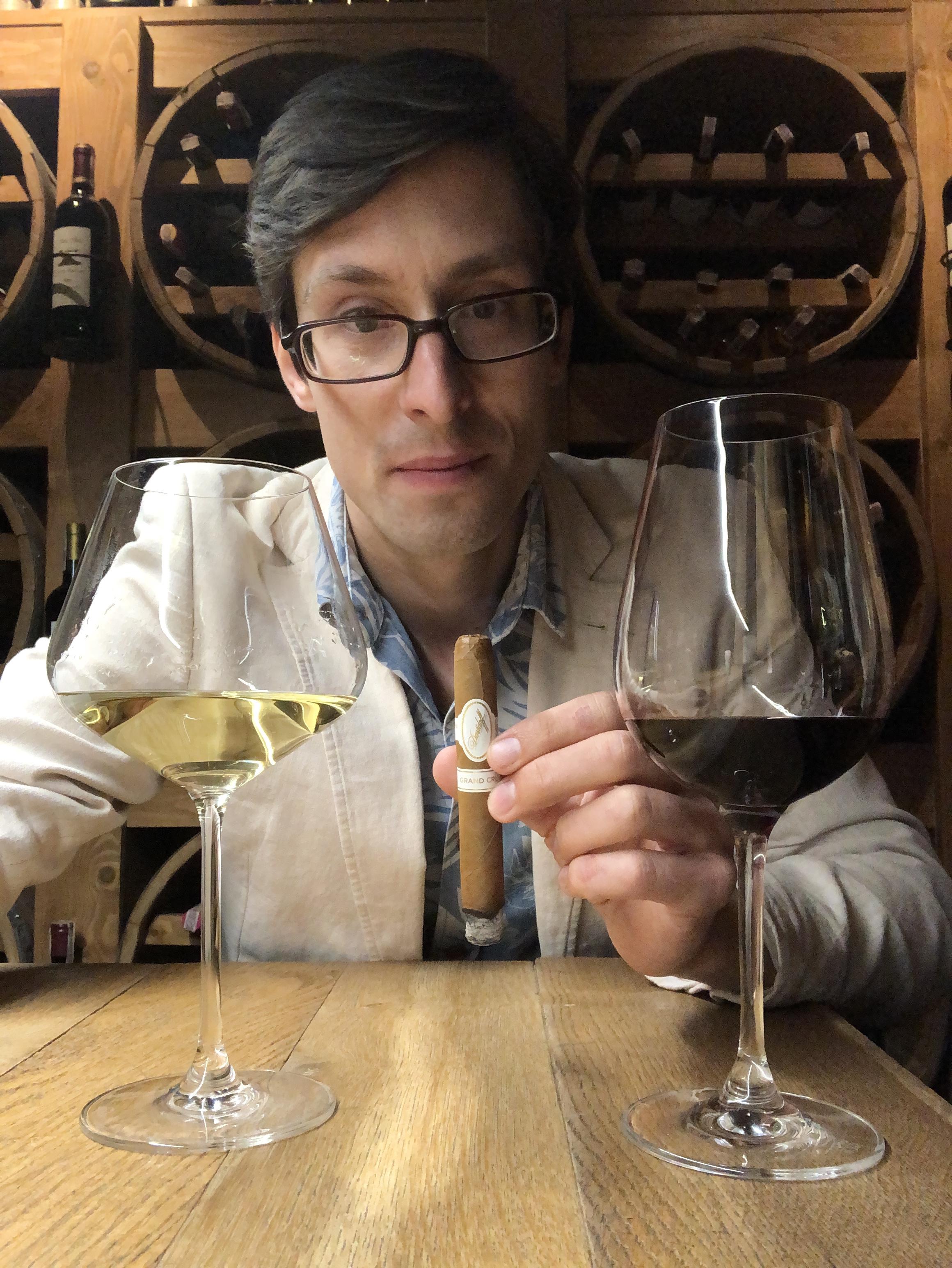 Filip Obara - Manufaktura Marzeń - cygaro i wino - Davidoff Grand Cru