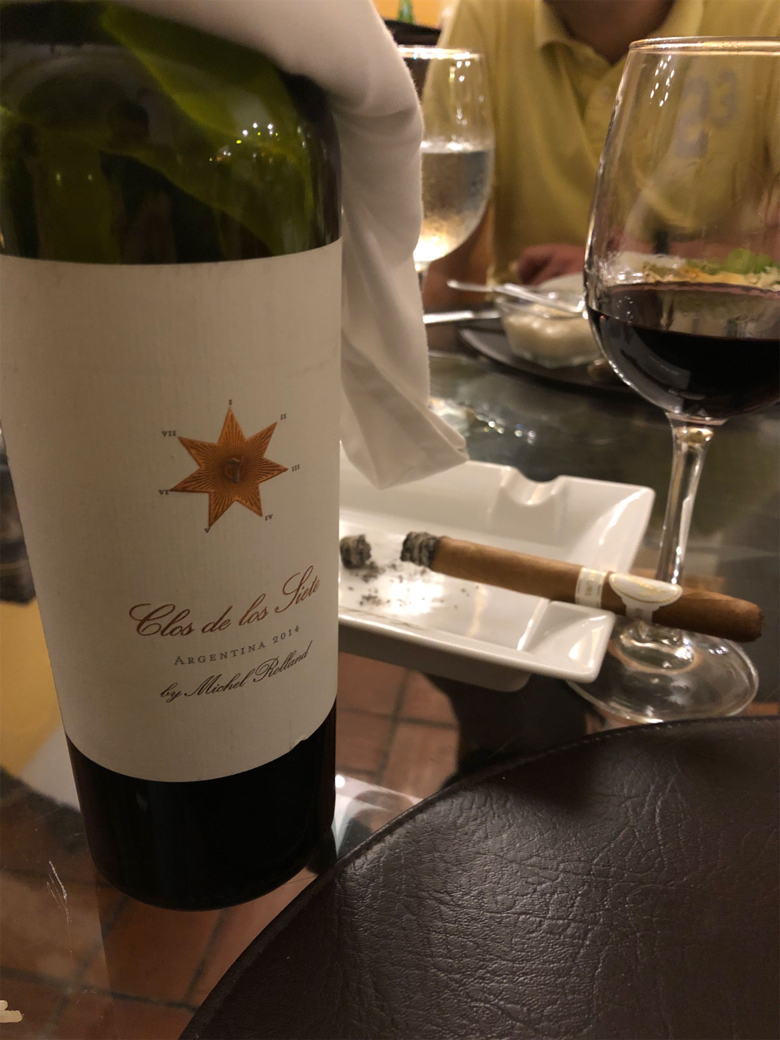 Cygaro i wino - Davidoff Signature