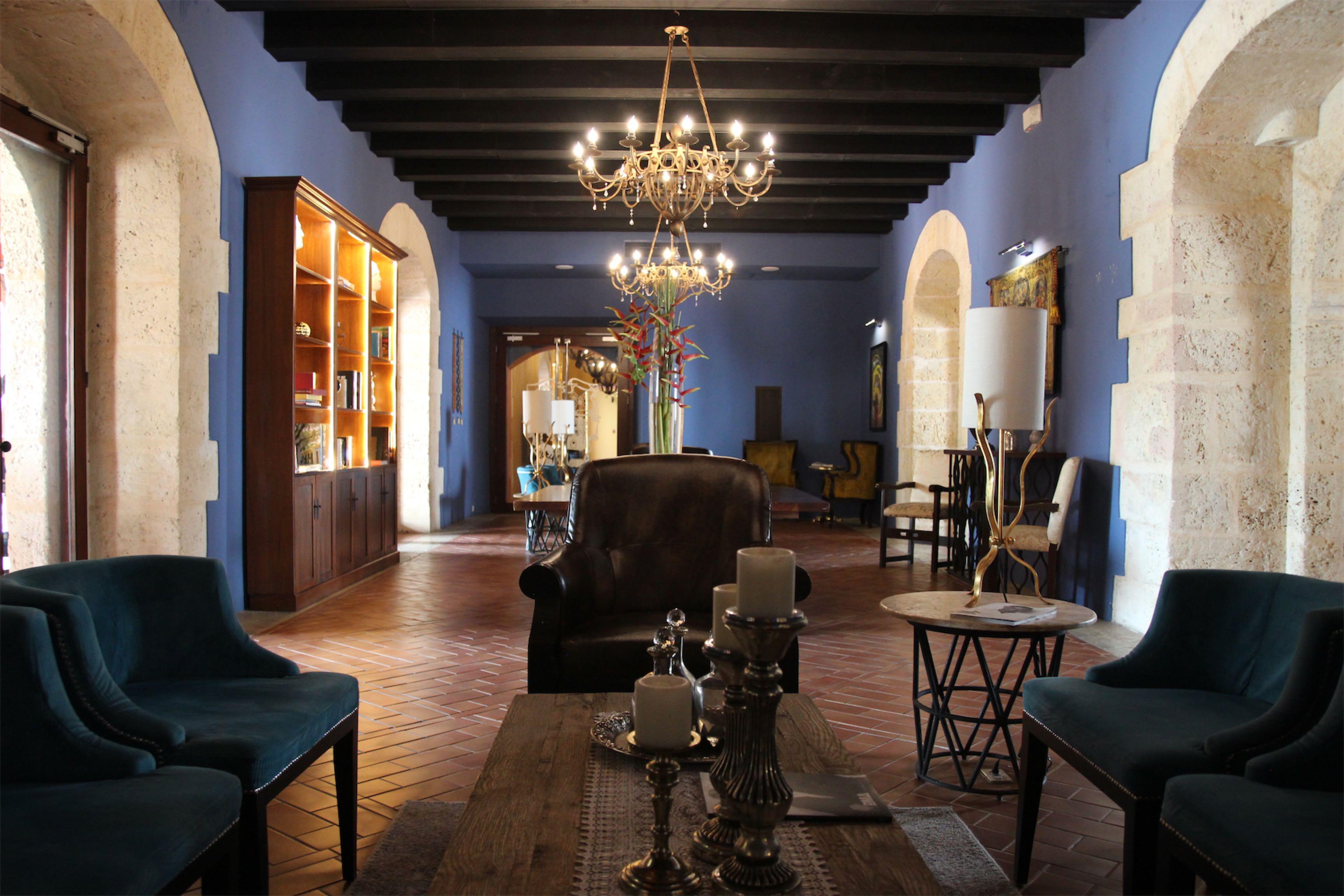 Hotel Hodelpa Nicalás de Ovando - najstarszy hotel w Nowym Świecie