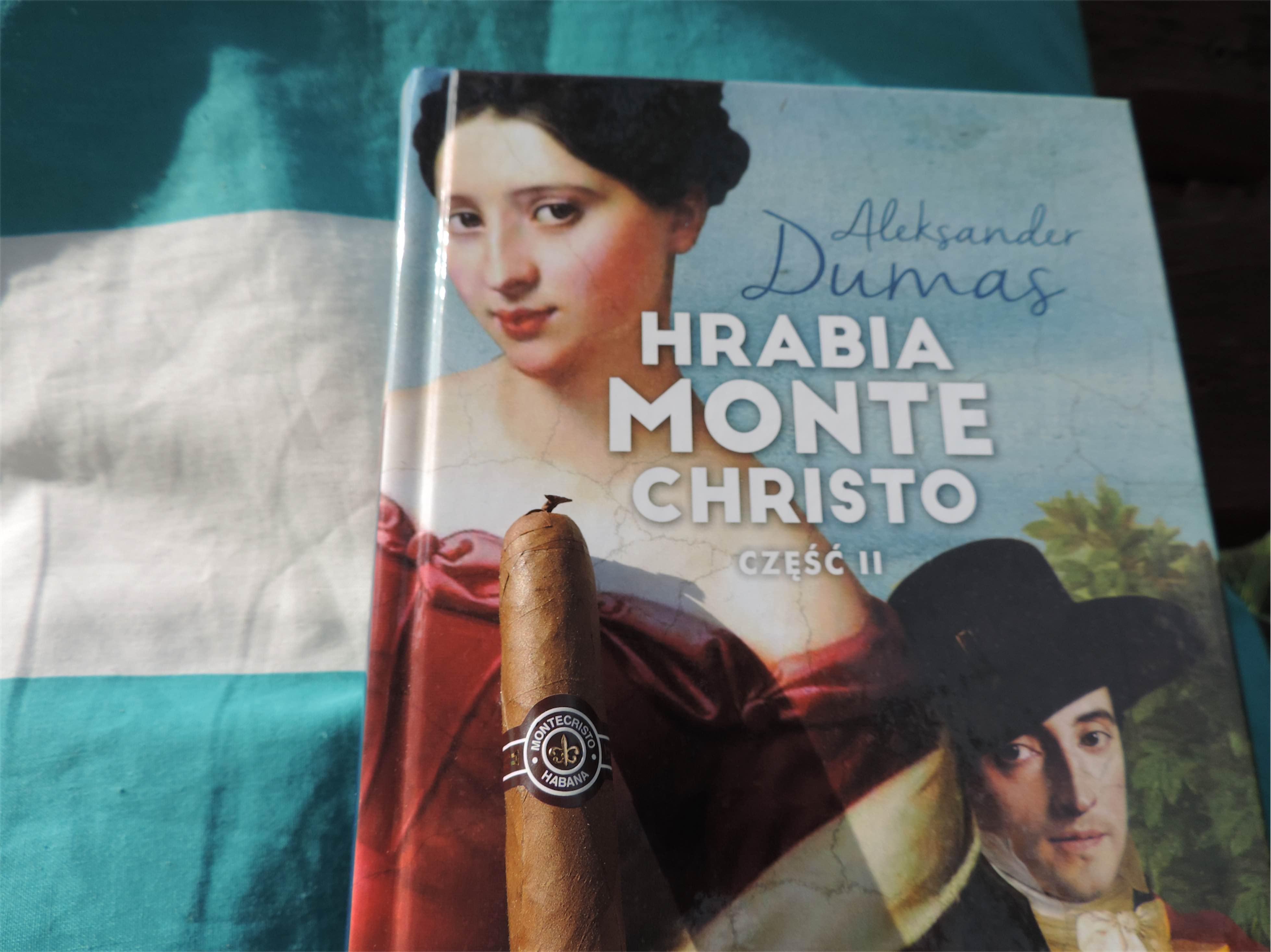 Hrabia Monte Christo i cygaro Montecristo - Manufaktura Marzeń