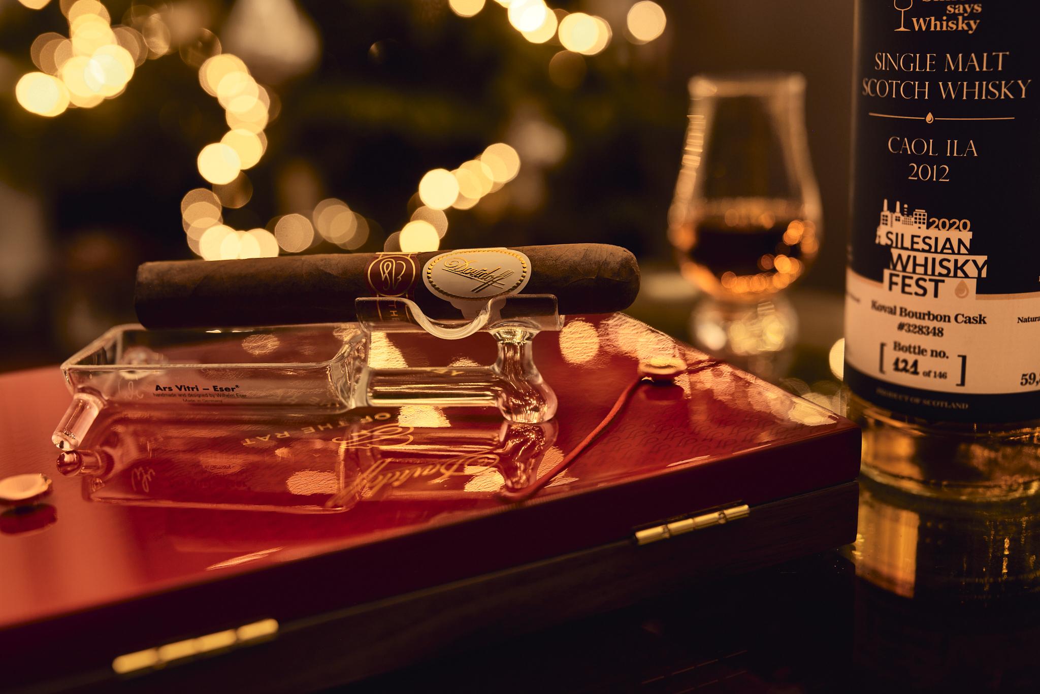 Cygaro i whisky - Davidoff Year of the Rat